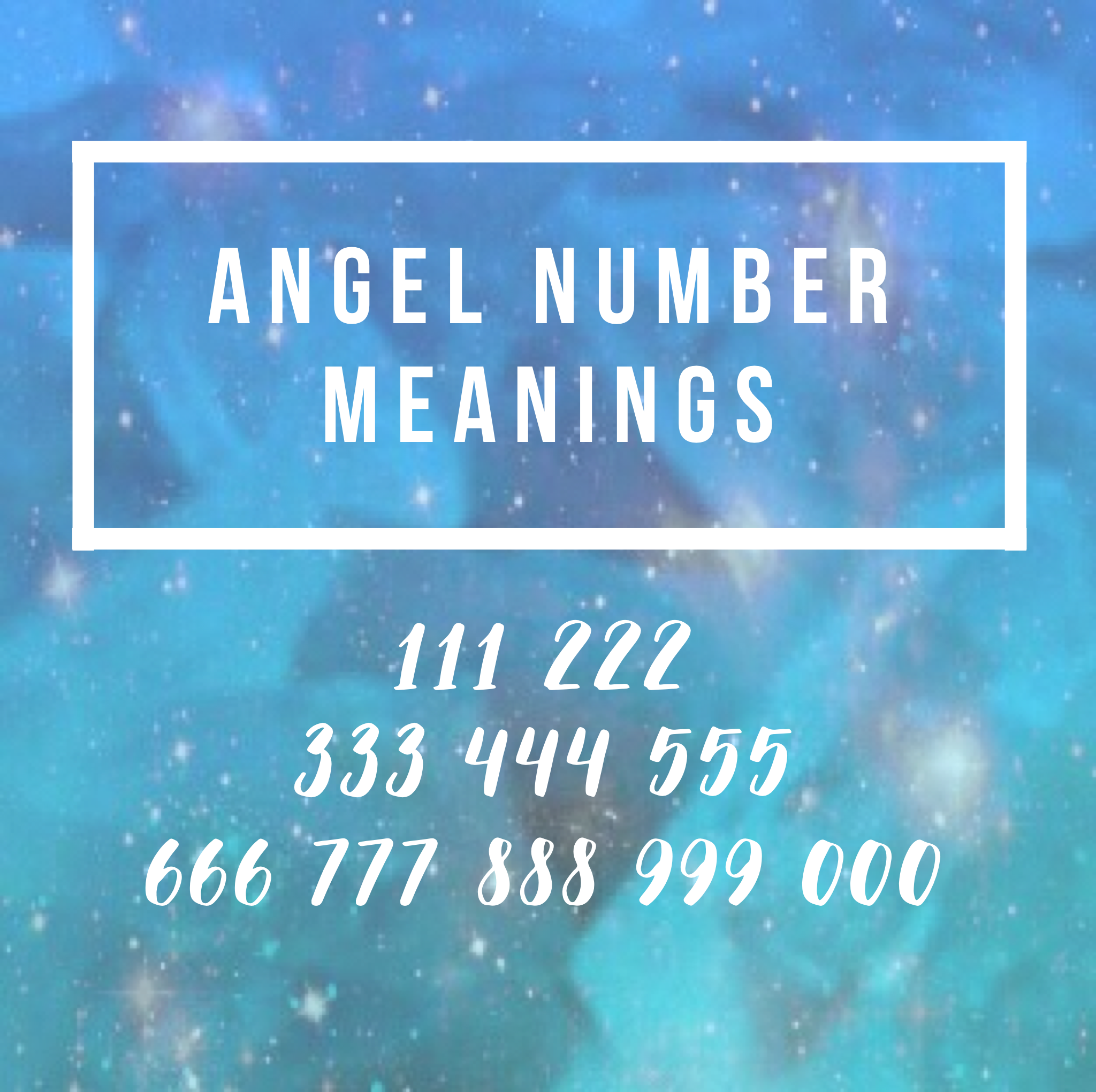 Seeing Repetitive Numbers The Meaning Of Angel Numbers Viola Hug