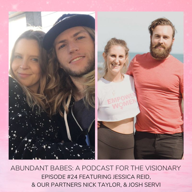 #24 Getting PERSONAL – hear more about who I REALLY am in this double interview where Jessica Reid & I Q&A our partners