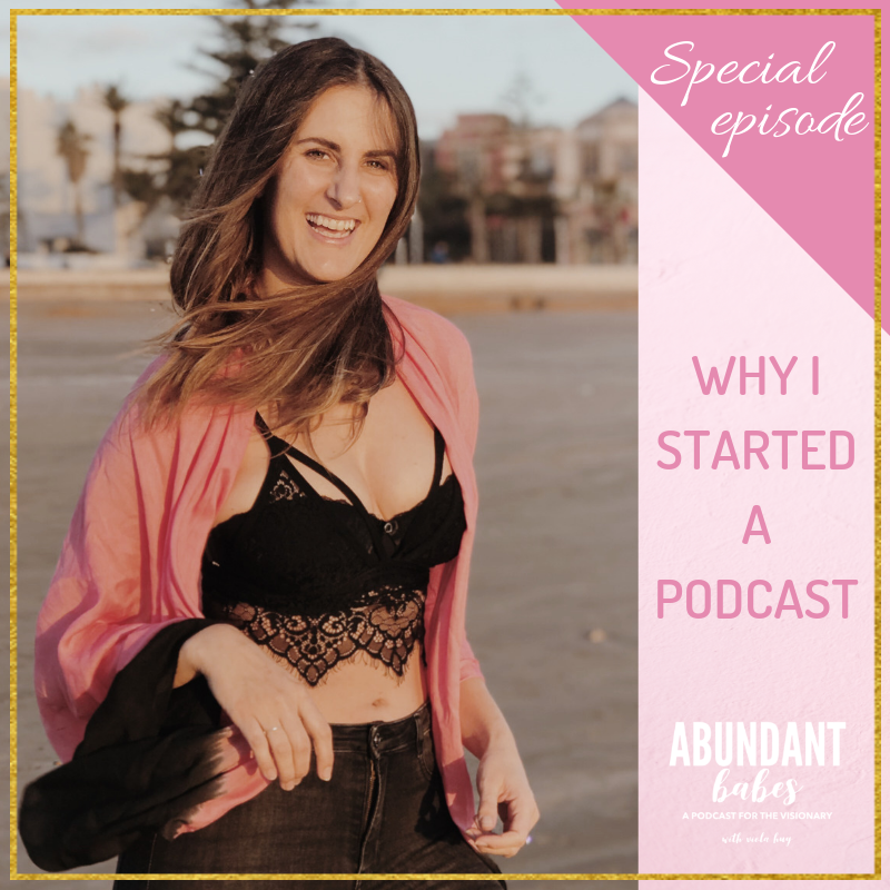 Let's talk: Why I started a podcast