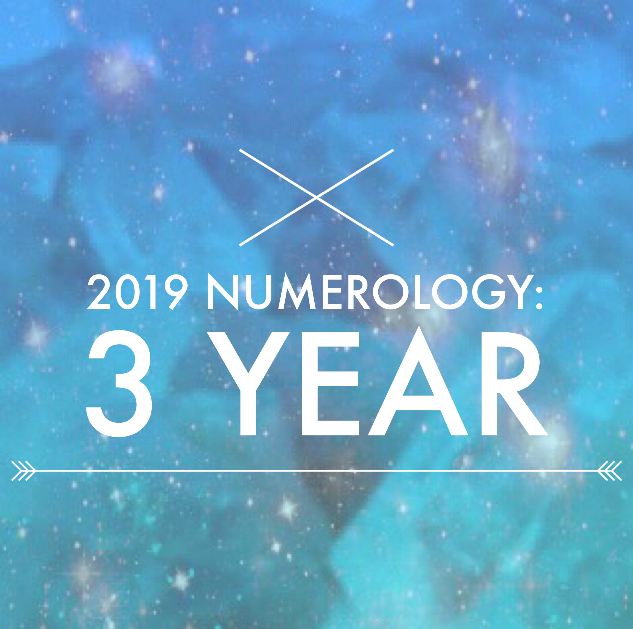 2019 numerology: 3 year [time to own your power]