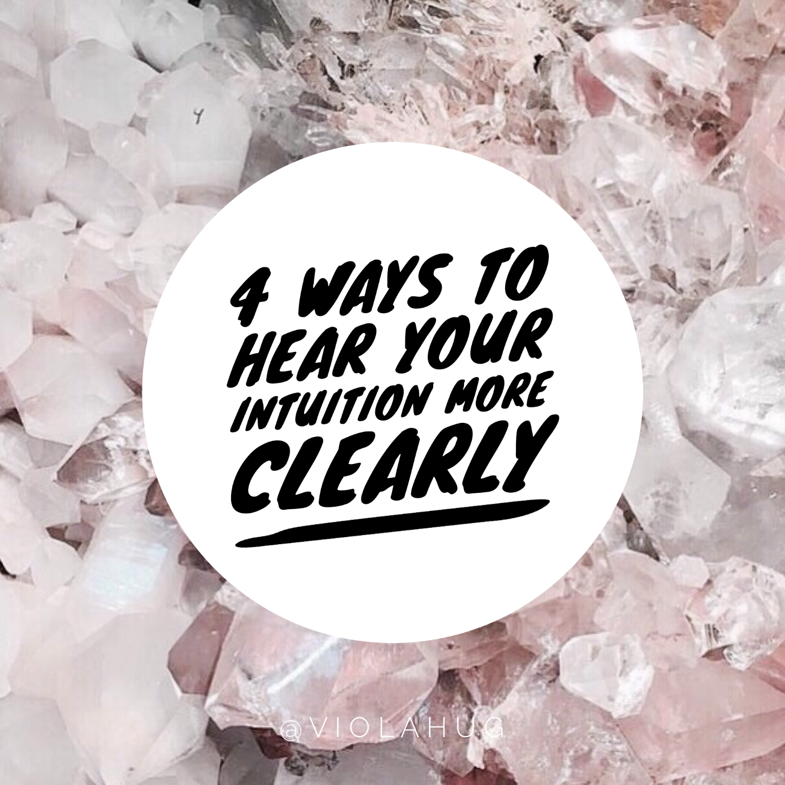 4 ways to hear your intuition more clearly