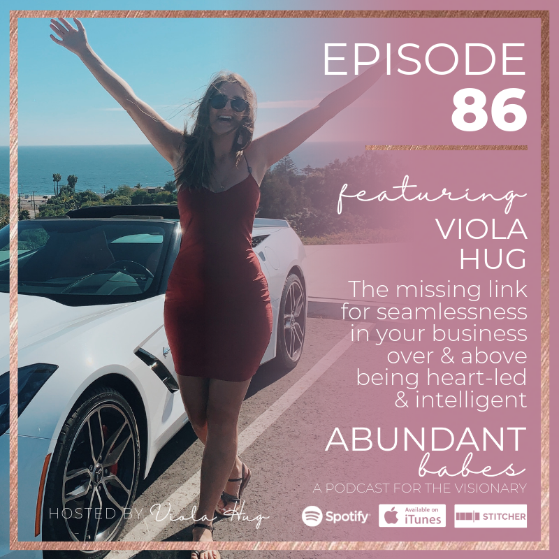 #86 The missing link for seamlessness in your business over & above being heart-led & intelligent