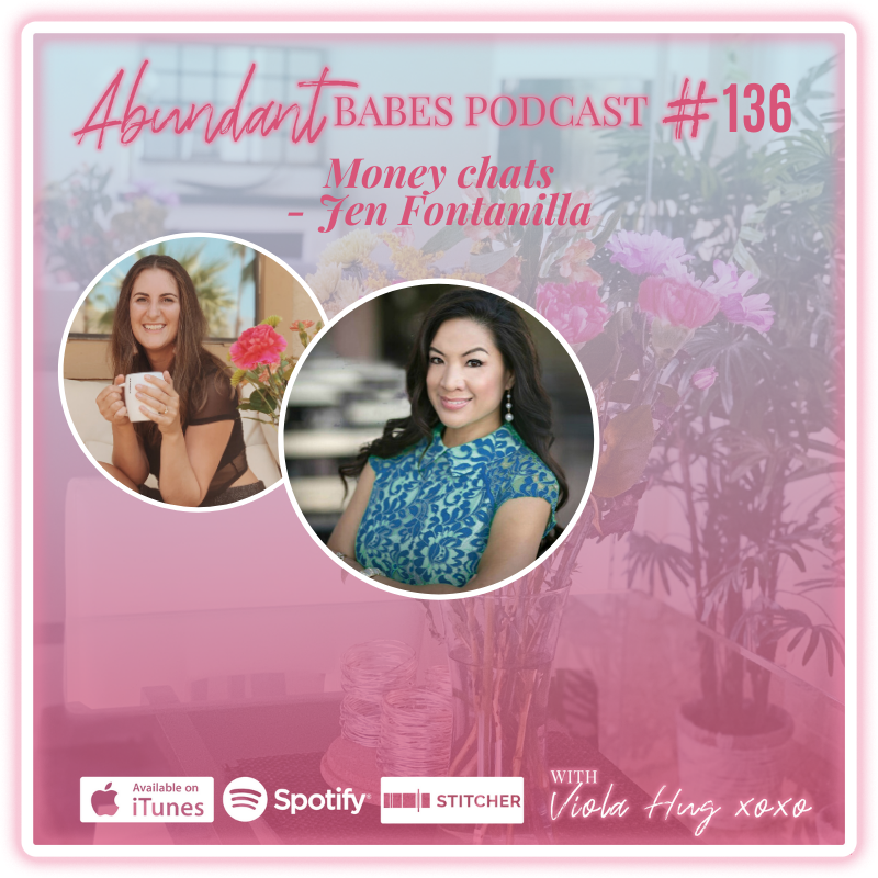 #136 Money chats with Jen Fontanilla