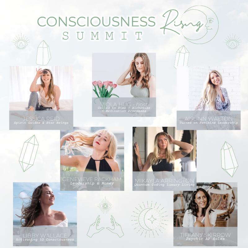 CONSCIOUSNESS RISING SUMMIT 2020: Welcome + Guided Meditation With Viola Hug