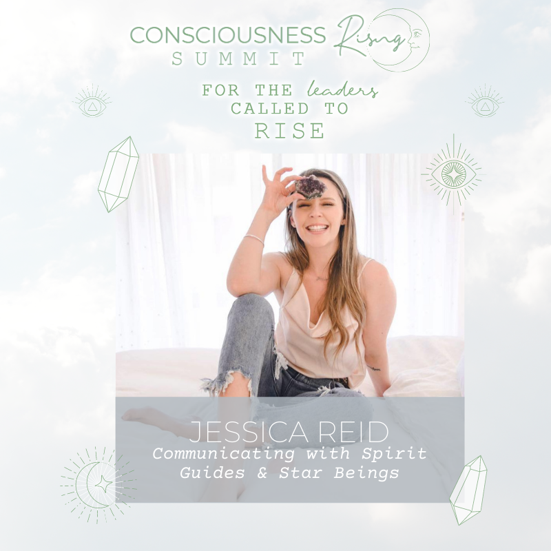 Read more about the article CONSCIOUSNESS RISING SUMMIT 2020: Communicating with Spirit Guides & Star Beings with Jessica Reid & Viola Hug