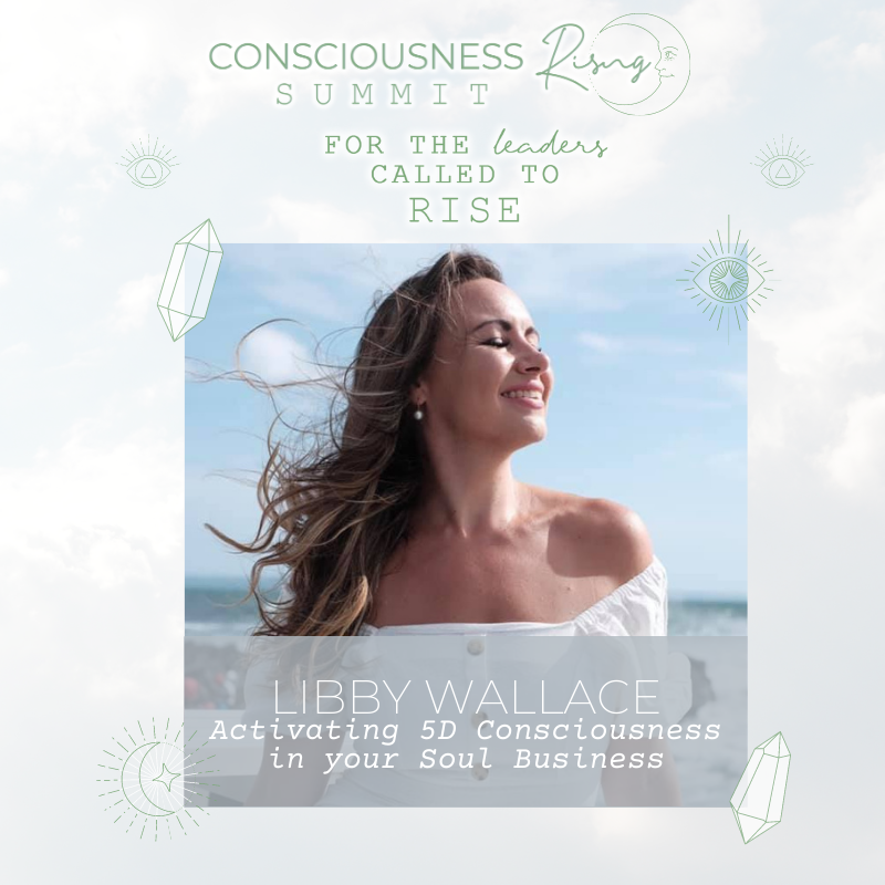Read more about the article CONSCIOUSNESS RISING SUMMIT 2020:  Activating 5D Consciousness in your Soul Biz with Libby Wallace & Viola Hug